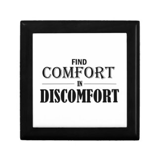 Find Comfort In Discomfort Jewelry Box