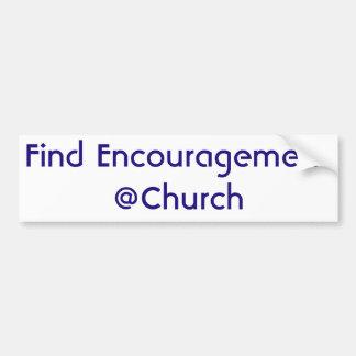 Find Encouragement @Church sticker