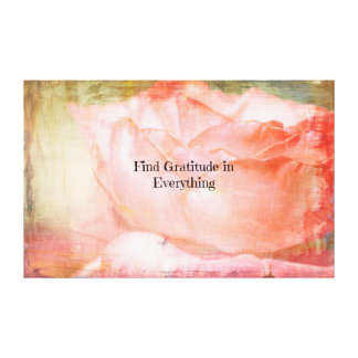 Find Gratitude Canvas Print