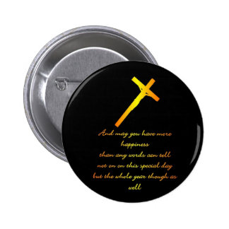 FIND HAPPINESS WITH JESUS BUTTONS