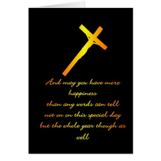 FIND HAPPINESS WITH JESUS GREETING CARD