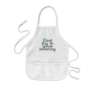 Find joy in your journey kids' apron