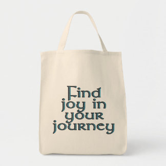 Find joy in your journey tote bag