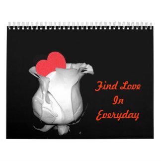 Find Love In Everyday Calendar