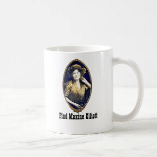Find Maxine Elliott Classic White Coffee Mug
