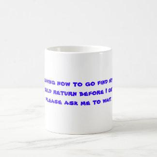 Find myself Mug
