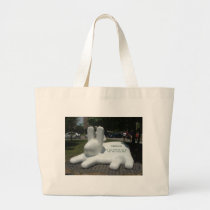 Find Old Me Large Tote Bag