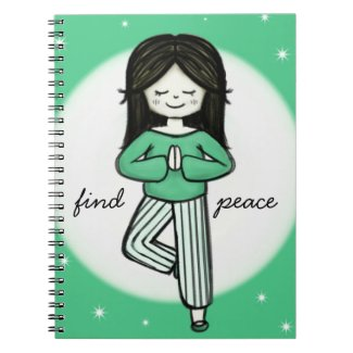 Find Peace Meditation Journal