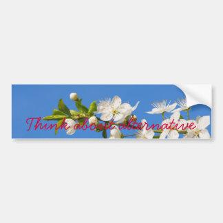 find peaceful solution bumper sticker