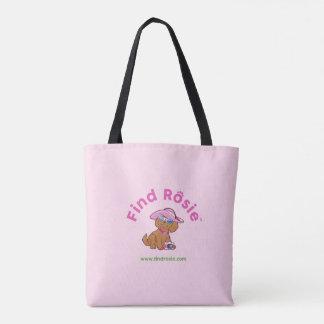 Find Rosie Pink Tote Bag
