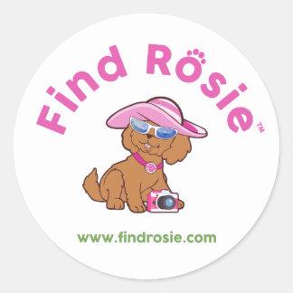 Find Rosie Stickers - Rosie with her camera