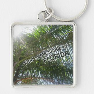 Find Shade in Florida Keychain