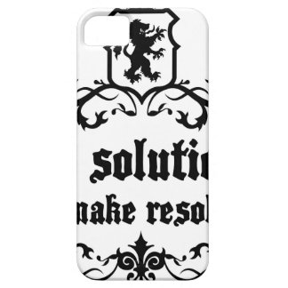 Find Solutions Donn't make Resolutions iPhone SE/5/5s Case