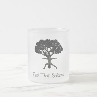 Find That Balance - Frosted Mug