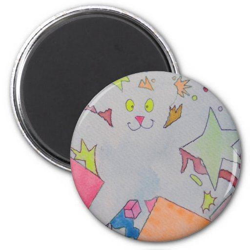 find the bear! 2 inch round magnet