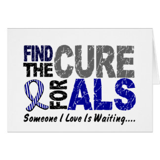 Find The Cure 1 ALS Greeting Card
