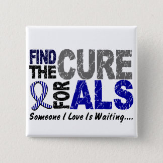Find The Cure 1 ALS T-Shirts & Gifts Pinback Button