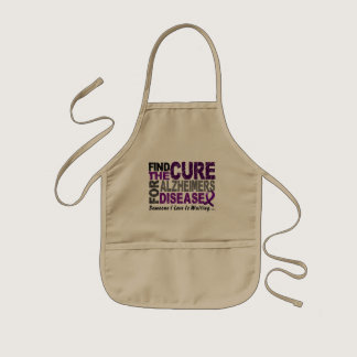Find The Cure 1 ALZHEIMER'S DISEASE T-Shirts Kids' Apron