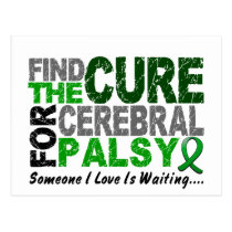 Find The Cure 1 CEREBRAL PALSY Postcard