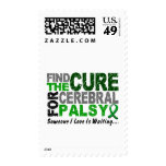Find The Cure 1 CEREBRAL PALSY Stamps