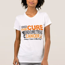 Find The Cure 1 ENDOMETRIAL CANCER T-Shirts & Gift