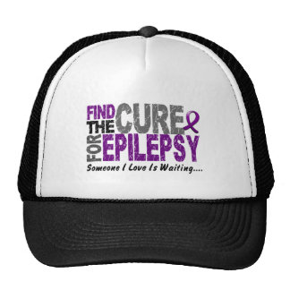 Find The Cure 1 EPILEPSY T-Shirts & Gifts Trucker Hat