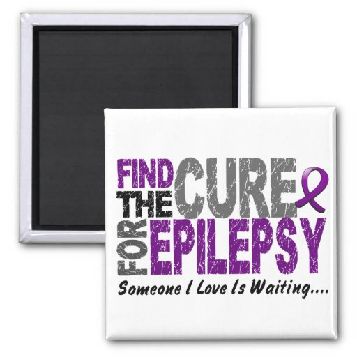 Find The Cure 1 EPILEPSY T-Shirts & Gifts Magnets