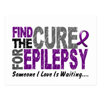 Find The Cure 1 EPILEPSY T-Shirts & Gifts Postcard
