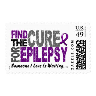 Find The Cure 1 EPILESPY T-Shirts & Gifts Stamps