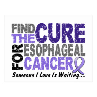 Find The Cure 1 ESOPHAGEAL CANCER T-Shirts & Gifts Postcard