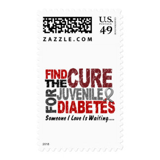Find The Cure 1 JUVENILE DIABETES T-Shirts & Gifts Postage