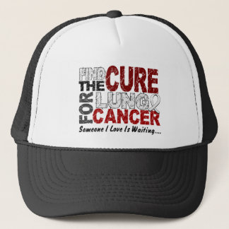 Find The Cure 1 LUNG CANCER T-Shirts & Gifts Trucker Hat