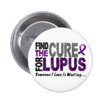 Find The Cure 1 LUPUS T-Shirts & Gifts Button