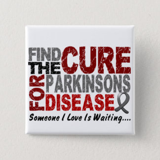 Find The Cure 1 PARKINSON'S DISEASE T-Shirts Button
