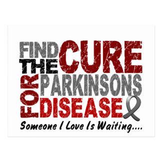 Find The Cure 1 PARKINSON'S DISEASE T-Shirts Postcard