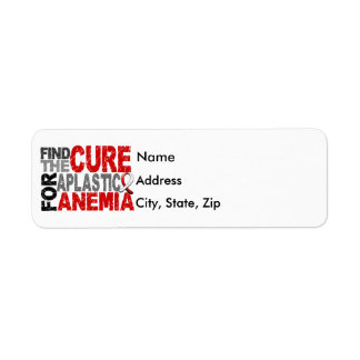 Find The Cure Aplastic Anemia Label