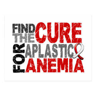Find The Cure Aplastic Anemia Postcard