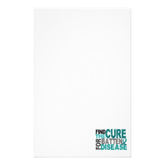 Find The Cure Batten Disease. Stationery