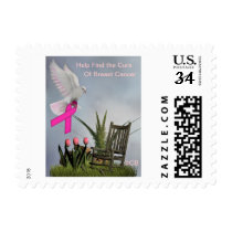 Find the Cure Breast Cancer Awareness Stamp