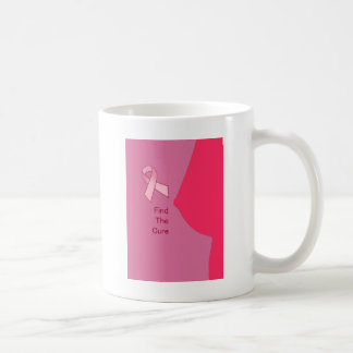 Find the Cure - Breast Cancer Awerenss Coffee Mug