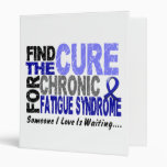 Find The Cure CFS Chronic Fatigue Syndrome Binder
