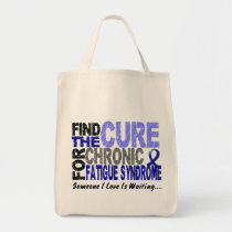 Find The Cure CFS Chronic Fatigue Syndrome Tote Bag