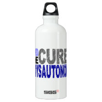 Find The Cure Dysautonomia Aluminum Water Bottle