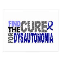 Find The Cure Dysautonomia Postcard