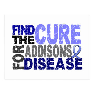 Find The Cure For Addison's Disease Postcards