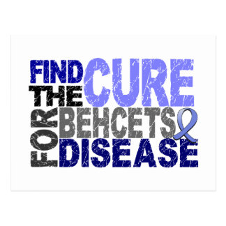 Find The Cure For Behcet's Disease Post Card