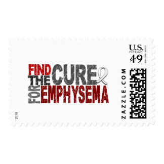 Find The Cure For Emphysema Postage