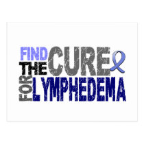 Find The Cure For Lymphedema Postcard