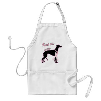 Find the Cure ~ Greyhound Adult Apron