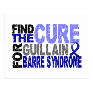 Find The Cure Guillain Barre Syndrome Post Card
